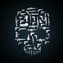 Cliche Skull of Guns by MasonDeGraff