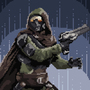 Destiny's Hunter Pixel Art
