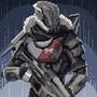 Destiny's Titan Pixel Art