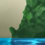 Island sketch by Arja