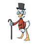 Scrooge McDuck by ElectricKoatHanger