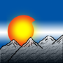 Flag of Colorado with Mountains by NostalgicNerd94
