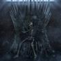 Skeleton on the Iron Throne
