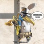 Steampunk Prinny by Eronn
