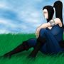 Lili - seated pose by AlexanderTheInsane