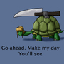 Turtle Tuff by AntiZombieKing