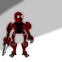 Red Cyborg by Bigstinkybuddy