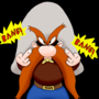 Yosemite Sam Gives the Bird by bxBLAZExd