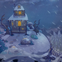 Granny's Winter abode! by AngshumanDhar