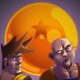 Dragonball Portrait by Caustic-Imp