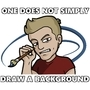 One Does Not Simply Draw a Background
