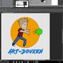 ART-Douken! progress by DeadlyTurtlee