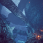 """Giant Cave"" 3D environment artwork"