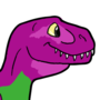 Yes, Barney by IHasAPencil