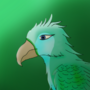 Kathe The Archaeopteryx by ShadowWolfess13