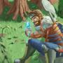 Fairy hunter by LeCanart