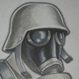 Gas Mask Soldier by J-Caro