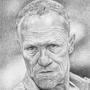 """Michael Rooker, Merle of """"The Walking Dead"""" by DrewJohnson"""