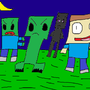Minecraft Monsters by GeorgeActrinei
