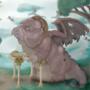 Elderly Dragon by ponderous-plants