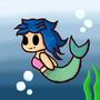 Chibi Mermaid by puffyfluff156
