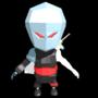 My Low Poly Ninja by ArtByXell