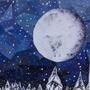 Snowy Night by kalmA1337