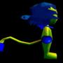 Denshii 3D Model N64 Version (Animated) by PeppaDew