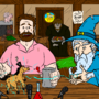 BOY's NIGHT! - Hello From The Magic Tavern Fan Art by JackSquatJB