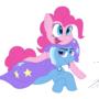 Pinkie Pie and Trixie