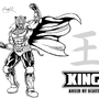 Tekken King kanji inked by eMokid64