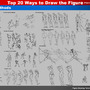 Top 20 Ways to Draw the Figure (7,8,9,10,11 The Five Manikins)