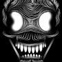 Skull Line Art by DeadlyMace2