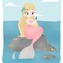 Curious Mermaid by ChibiAshley