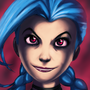 Jinx Portrait by Twisted4000