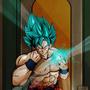 Goku SSJB by jermaine1995