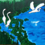 Swans by PapaLegba