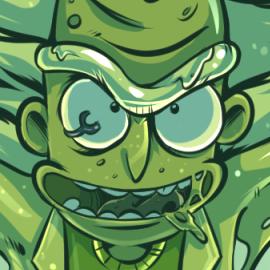 Toxic Rick by geogant on Newgrounds