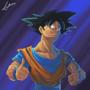 Just Goku by fabianlpineda
