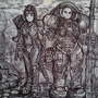 Starcraft Terran Ghost and Marine