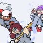 Janitor Trio by TKOWL