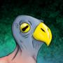 Buttbird by RHIN0SAURUS