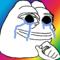 Rare Albino Crying Pepe