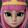 Princess Bubblegum by mccabe86