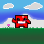 Pixel Art - Meat Boy