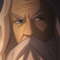 Cartoon Gandalf