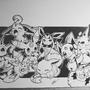 Eevee Family chibi by MartinPSteele