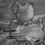 Still Life with Skull and Vase