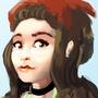 Bandana girl - sketch painting by Flashnet