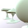 Vase, Mushroom and Globe